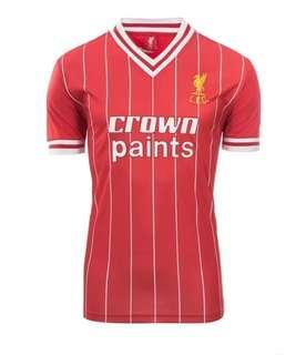 Liverpool 1982 1983 Retro Jersey