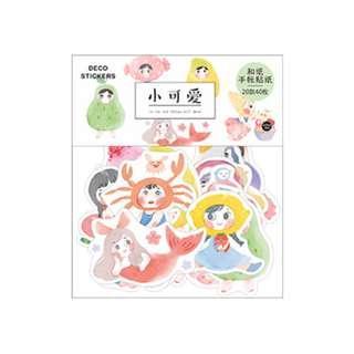 Pattern Little Cutie Deco Stickers Pack