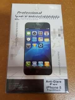iPhone 5 screen protector