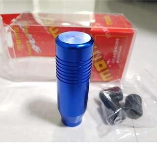 Elegance blue Gear Knob - with line series
