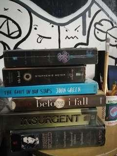 Teen fiction/ Young Adult books
