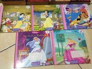 Disney Princess Series Books