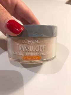 Translucide naturally luminous loose power