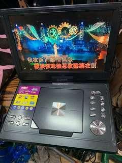 Divx 12吋 電視DVD機(全新買來只用過三次)99新