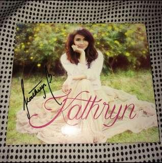 KATHRYN BERNARDO SIGNED ALBUM