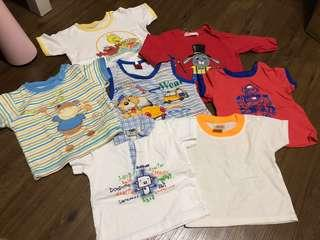 Preloved baby boy top and tee