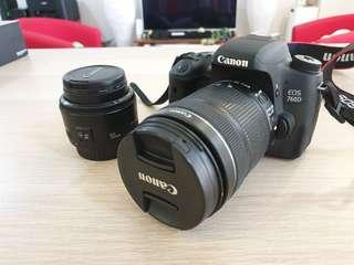 Canon EOS 760D with 18-135mm Kit Lens