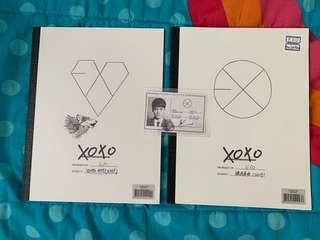 EXO XOXO albums (Korean and Chinese)