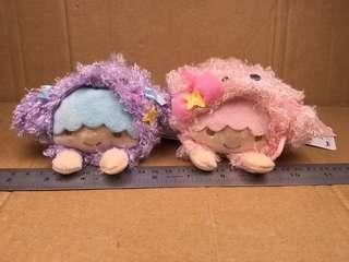 Sanrio Little Twin Stars 扮狗仔 毛公仔 057622 057649