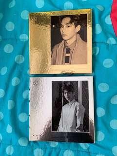 EXO Exodus (Baekhyun and Chen versions)