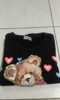 🚚 熊熊長袖上衣