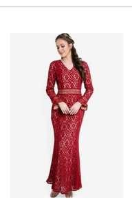 (REDUCED)Zalia mermaid lace dress