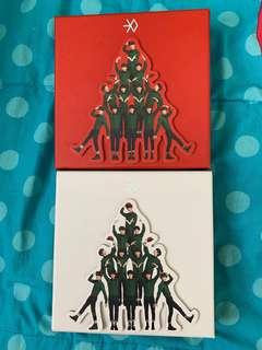 EXO Miracles of December Album (Chinese and Korean)