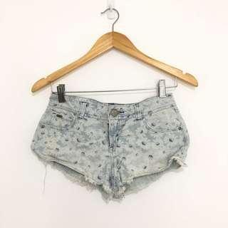Cache Cache Floral Denim Shorts