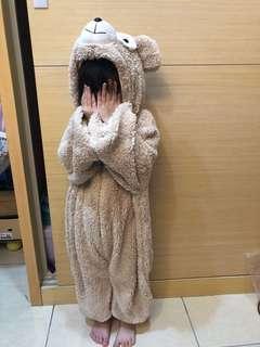 🚚 全新 達菲熊熊貓貓連身造型衣