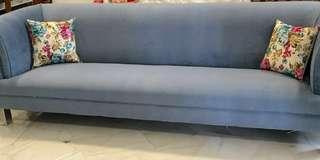 Solid sofa 4 seater good quality