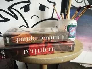 Incomplete Delirium series by Lauren Oliver (Pandemonium & Requiem)