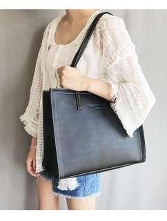 Fashion women leather shoulder Bag