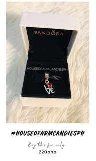 Pandora Mickey Mouse Love Pendant Charm