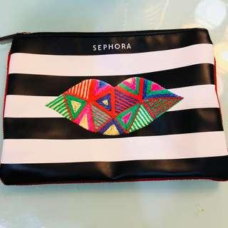 New! Sephora Cosmetic Bag Pouch