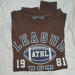 Giordano Sweatshirt / Pullover in Brown #MY1212