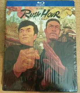 Blu ray Rush Hour Trilogy (Mondo exclusive)