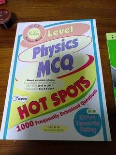🚚 O level physics MCQ Assessment book