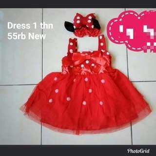 Dress Red Mickey
