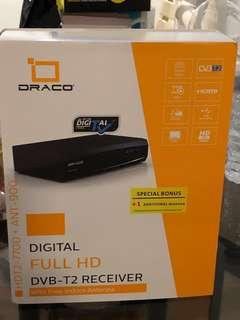 Draco Digital Full HD DVB-T2 Receiver