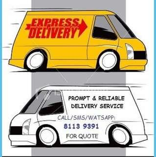 Delivery and Moving Transport Service