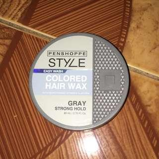 Easy Wash Colored Hair Wax (Gray)