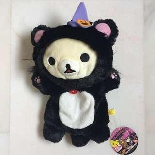 Rilakuma, Korilakuma, Toys, Hand Puppet, Story Telling Props, Halloween, Bear, Furry, Sanrio, Christmas Gift Ideas, Birthday Present, Plushie