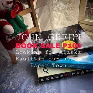 📚SALE! JOHN GREEN BOOKS