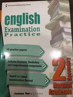 english examination practice sec 2 (na)