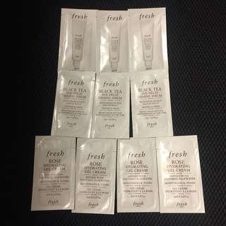 Fresh Cleanser/serum/cream