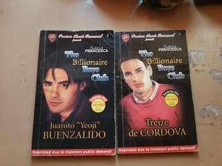 The Billionare Boys Club pocketbooks (Precious Hearts Romances)