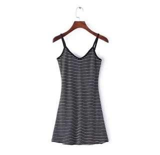 #MY1212 stripe dress