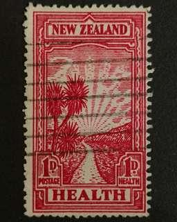 New Zealand 1933. Health Stamp. The pathway complete set of 1