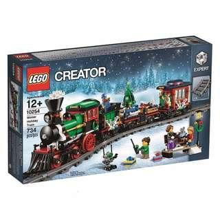 Leeogel Lego Creator 10254 Christmas Winter Holiday Toy Train - New In Sealed Box