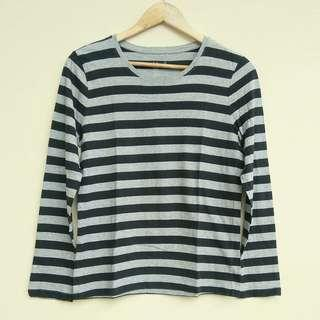 Muji Japan Stripe Top