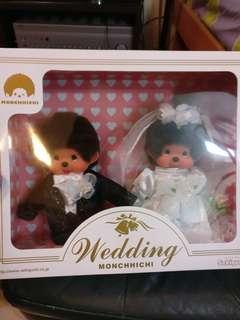 結婚公仔 wedding monchhichi brand new