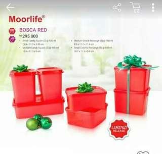 Moorlife Set Bosca Red