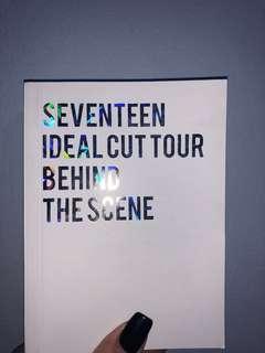 SEVENTEEN IDEALCUT TOUR BEHIND BOOK