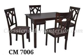 Dining Set 4-seater Cm 7006