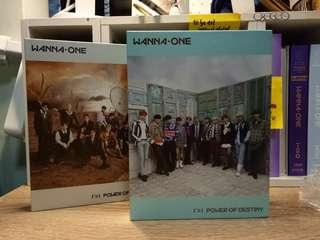 WTS UNSEALED WANNA ONE POWER OF DESTINY ALBUMS