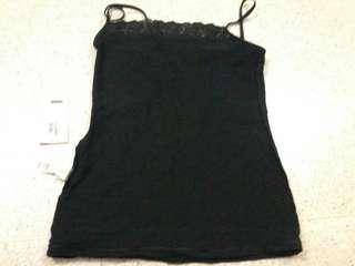 Markes and spencers uk 10 cotton and lace vest camisole w