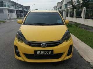 2014 Perodua Myvi 1.5 SE limited edition