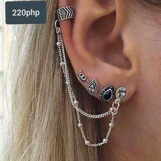 Bohemian earrings set