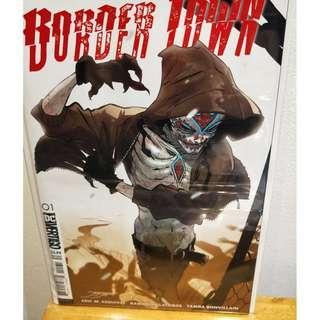 Border Town #1 / NM / 2018 DC Vertigo Comics / Cover B Jimenez Variant Sold Out!