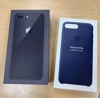 i phone 8+ 64G 原廠保固